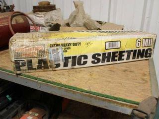 1 Roll 6 Mil plastic Sheeting