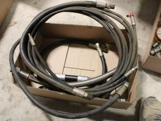 Assorted Hydraulic hoses