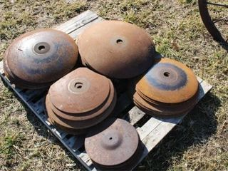 Used Disc Blades   Misc Sizes