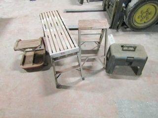 ladder  stool  platform  creeper