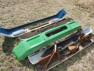 5 ea Truck metal bumpers