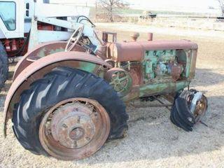 Vintage Oliver Hart  Parr 3 5 Plow Tractor