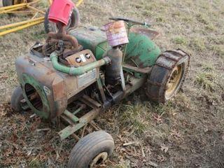 Home Made Garden Tractor w  Wisconsin Engine