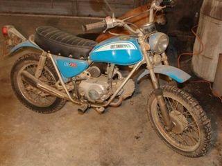 1972 Honda Sl 70 Trail Bike  8387 Miles