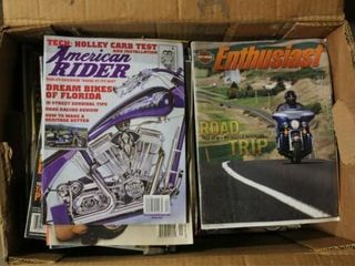 Assorted Motorcycle magazines