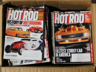 Assorted Hot Rod and Gun Magazines