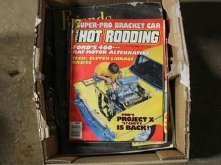 Assorted Hot Rod and Motorcycle magazines