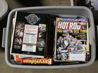 Assorted Motorcycle and Hot Rod Magazines