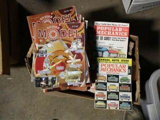Assorted Magazines Popular Mechanics