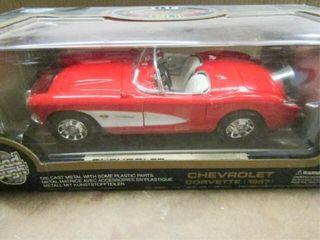 Rough Road Die Cast 1957 Chevy Corvette