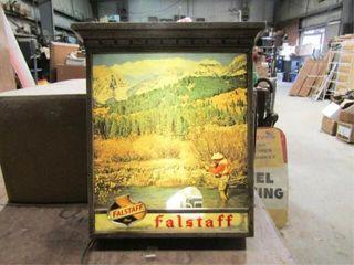 Falstaff Beer Sign