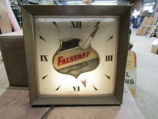 Falstaff Beer Clock