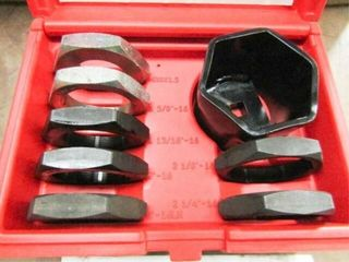 Snap On 8 pc Floating Axle Housing Rethreader Kit