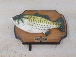 BIG MOUTH BIllY BASS WAll HANGING