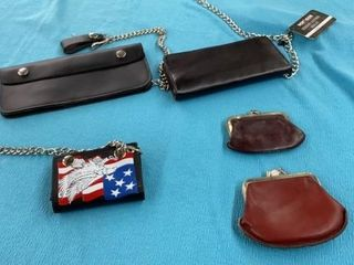 WAllETS  BIKER WAllETS AND COIN POUCHES