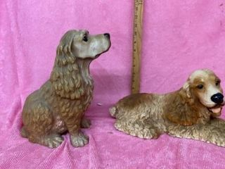 SET OF COCKER SPANIEl DOGS