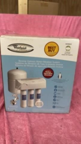NEW WHIRlPOOl REVERSE OSMOSIS WATER FIlTRATION