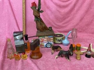 COlOGNES  TIN  FIGURINES AND MISC