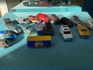 SPAM MINIATURE VAN AND OTHER TOY VANS AND