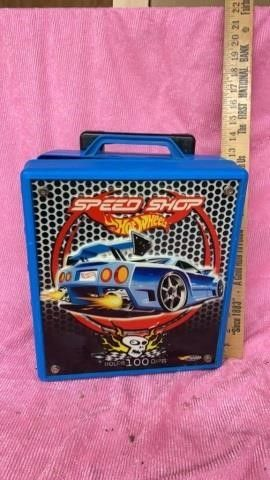 HOT WHEEl CAR CASE   HOlDS 100 CARS