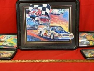 NASCAR 5 PIECE WAll ART