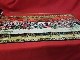 19  X 38    lORDS SUPPER  TAPESTRY