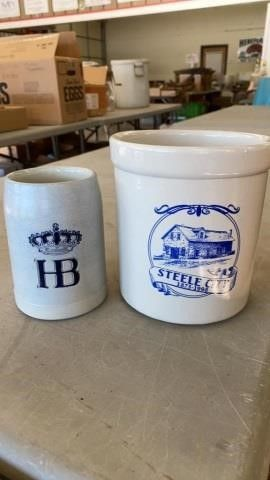 STEElE CITY CROCK ANS GERMANY STEIN