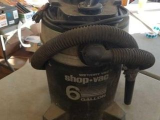 WET DRY 6 GAllON SHOP VAC