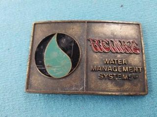 REINKE BElT BUCKlE