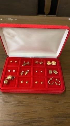 CASE OF NEW PIERCED EARRINGS
