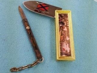 ANTIQUE BOX CUTTER AND POCKET KNIFE