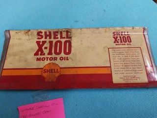VINTAGE SHEll OIl PRE ROllED CAN