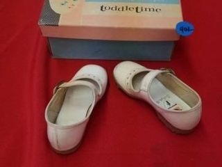VINTAGE 1950 S TODDlE TIME lITTlE GIRlS SHOES