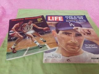 1963 lIFE MAGAZINE AND 1972 SPORTS IllUSTRATED