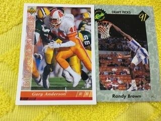 GARY ANDERSON   TAMPA BAY  UPPER DECK FOOTBAll
