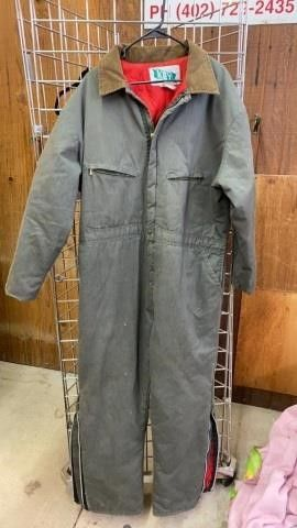 VINTAGE KEY COVERAllS  Xl