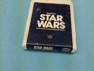 1977 STAR WARS 8 TRACK TAPE