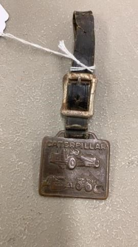 VINTAGE CATERPIllAR WATCH FOB   MISSOURI VAllEY