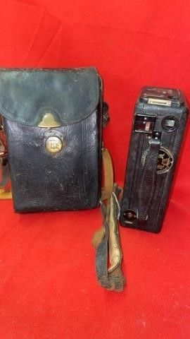 1925 KODAK CINE CANERA WITH CASE