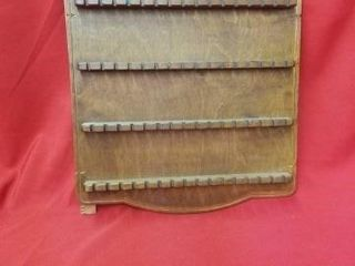 64 SlOT SPOON RACK   WOODEN
