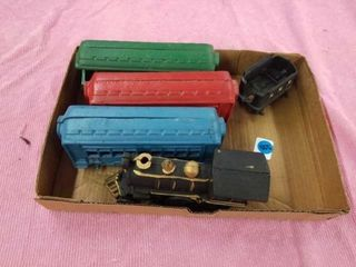 CAST IRON TOY TRAIN 40  lONG