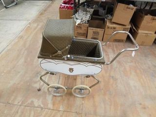 1950 S WElSH DOll BABY BUGGY   COMPlETE  NO TEARS