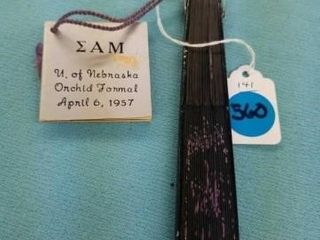 1957 UNl SIGMA AlPHA MU FRATURNITY MY  lOVE  FAN