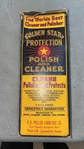 GOlDEN STAR PROTECTION POlISH WITH BOX  FUll
