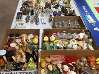 Salt & Pepper Shaker Collection Day 2 Auction