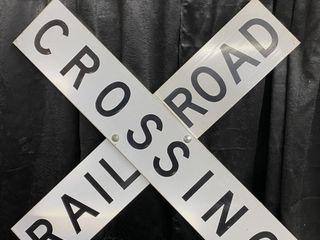 Railroad Crossing SST reflective  48x48