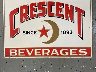 Crescent Beverages  embossed SST  1930 s