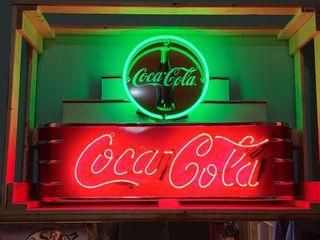 Coca Cola neon 2x3