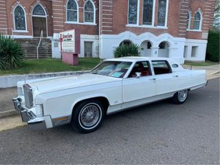 1977 lincoln Continental Roy Clark Special