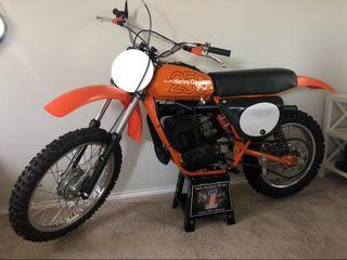 1978 Harley Davidson MX 250